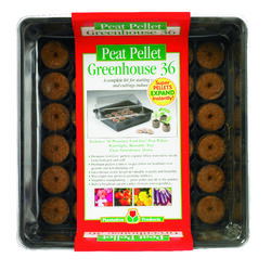 Plantation Products Greenhouse Peat Pellet Tray 1 pk