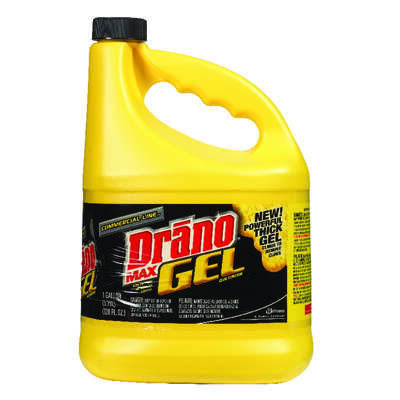 Drano  Commercial Line  Gel  Clog Remover  128 gal.