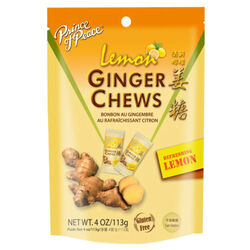 Prince of Peace  Ginger/Lemon  Chewy Candy  4 oz.