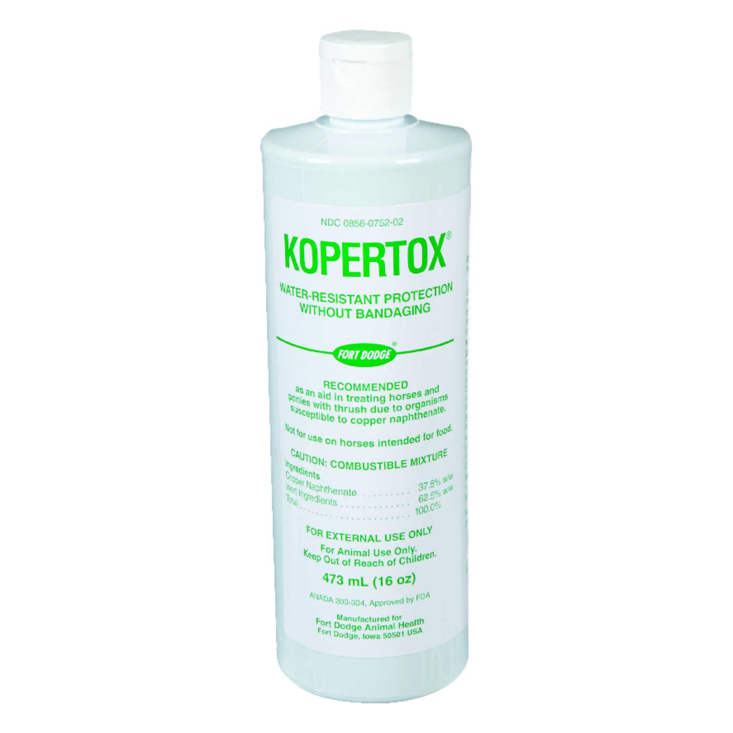 Kopertox  Liquid  Wound Protection  For Horse 16 oz.