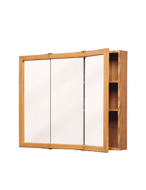 Zenith  26 in. H x 24 in. W x 4.5 in. D Rectangle  Medicine Cabinet