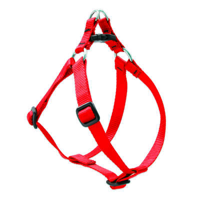 Lupine Pet  Basic Solids  Red  Red  Nylon  Dog  Harness