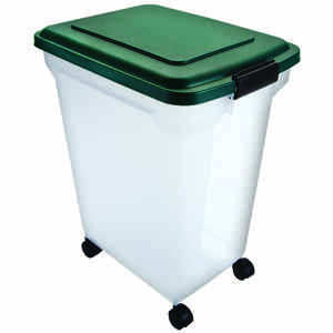 Remington  Plastic  55 qt. Pet Food Container  For Universal