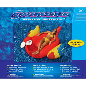 Swimline  Multicolored  Multicolored  Vinyl  Pool Float  Inflatable