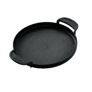 Weber  Cast Iron/Porcelain  Griddle  2.6 in. H x 15.9 in. L x 15.4 in. W