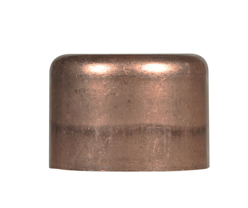 Elkhart  1-1/2 in. Sweat   x 1 1/2 in. Dia. Cap  Copper  Cap
