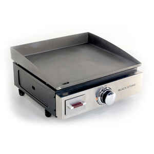 Blackstone  17 in. Table Top  1 burners Propane  Grill  Stainless Steel  12000 BTU