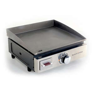 Blackstone  17 inch Table Top  1 burners Propane  Stainless Steel  Grill  12000 BTU