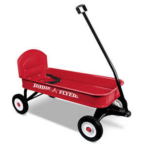 Radio Flyer Wagon 34 in. x 15-1/2 in. x 4 in. Ages Over 1-1/2 Years Steel
