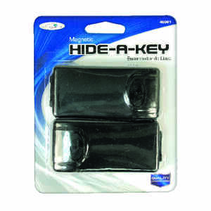 Custom Accessories  Plastic  Concealment Box  For Fits most standard keys Black