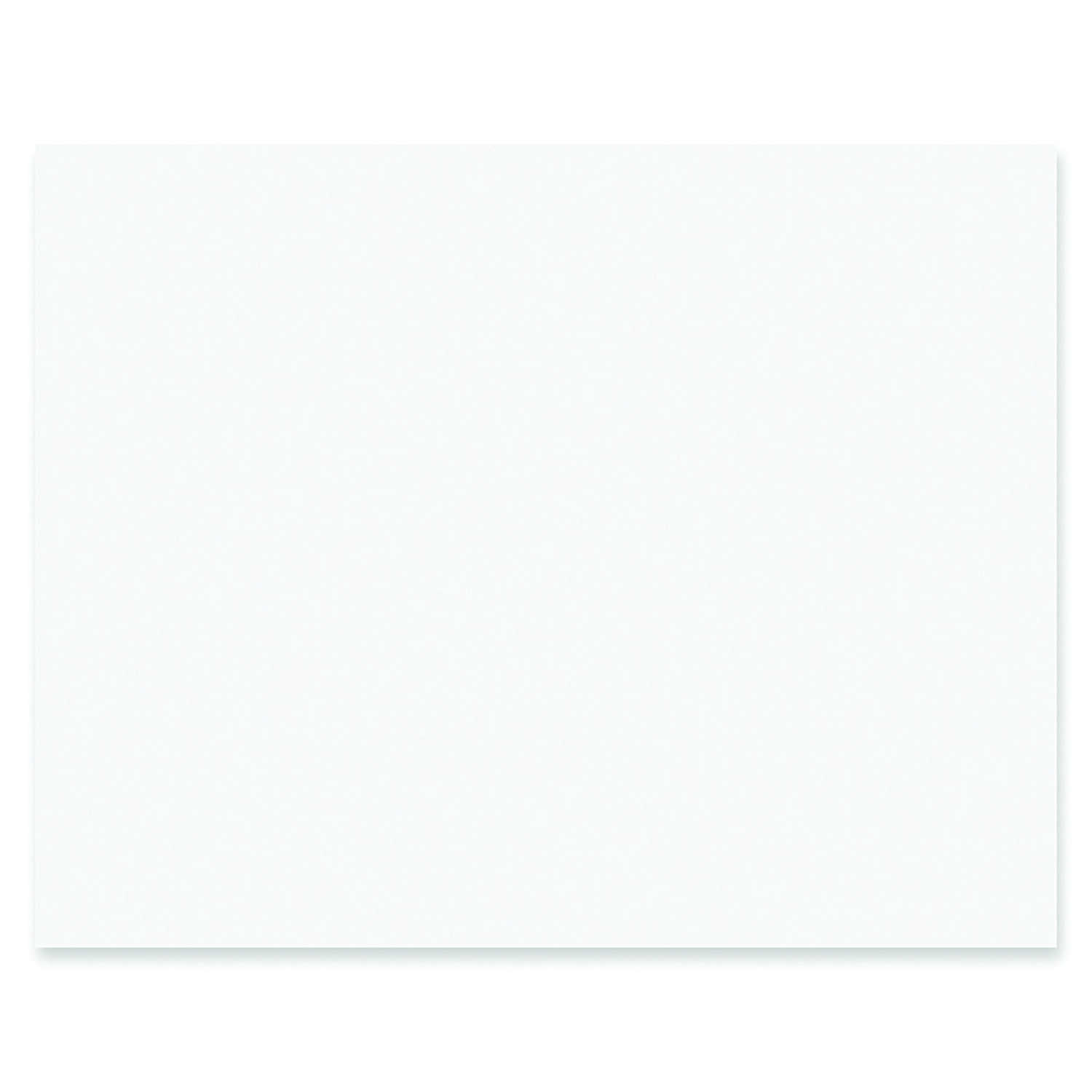 Pacon  22 in. W x 28 in. L White  Poster Board