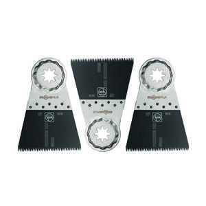 Fein StarlockPlus  Multimaster  2-9/16 in.  x 2-9/16 in. L Steel  Saw Blade  3 pk