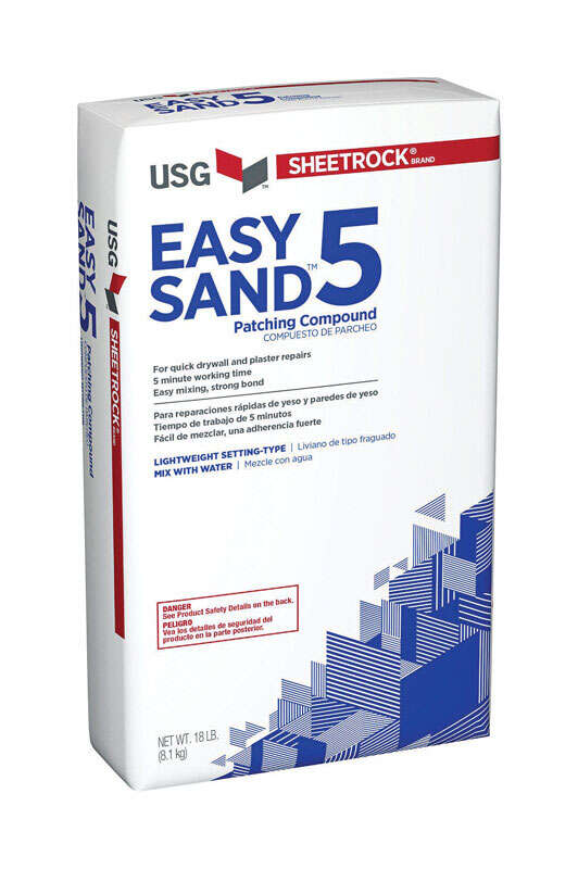 Sheetrock  Sand  Easy Sand 5  Joint Compound  18 lb.