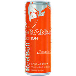 Red Bull  The Orange Edition  Tangerine  Energy Drink  12 oz.