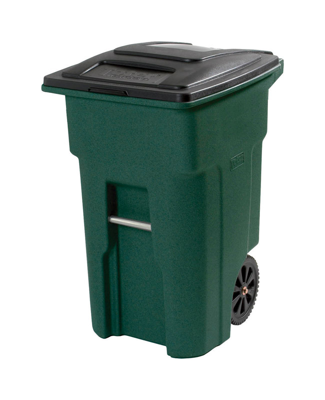 Toter  48 gal. Polyethylene  Wheeled Trash Can