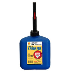 Midwest Can  FlameShield Safety System  Plastic  Kerosene Can  2 gal.