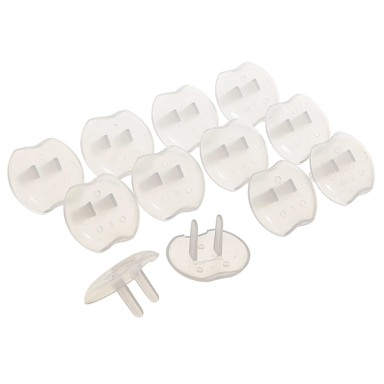 Dreambaby  Clear  Plastic  Outlet Protector  12 pk