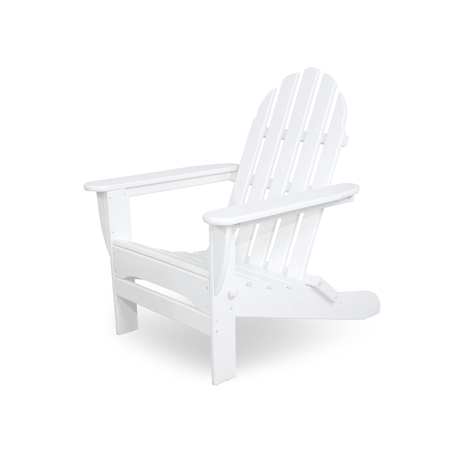 Ivy Terrace  Folding  White  Polypropylene  Chair