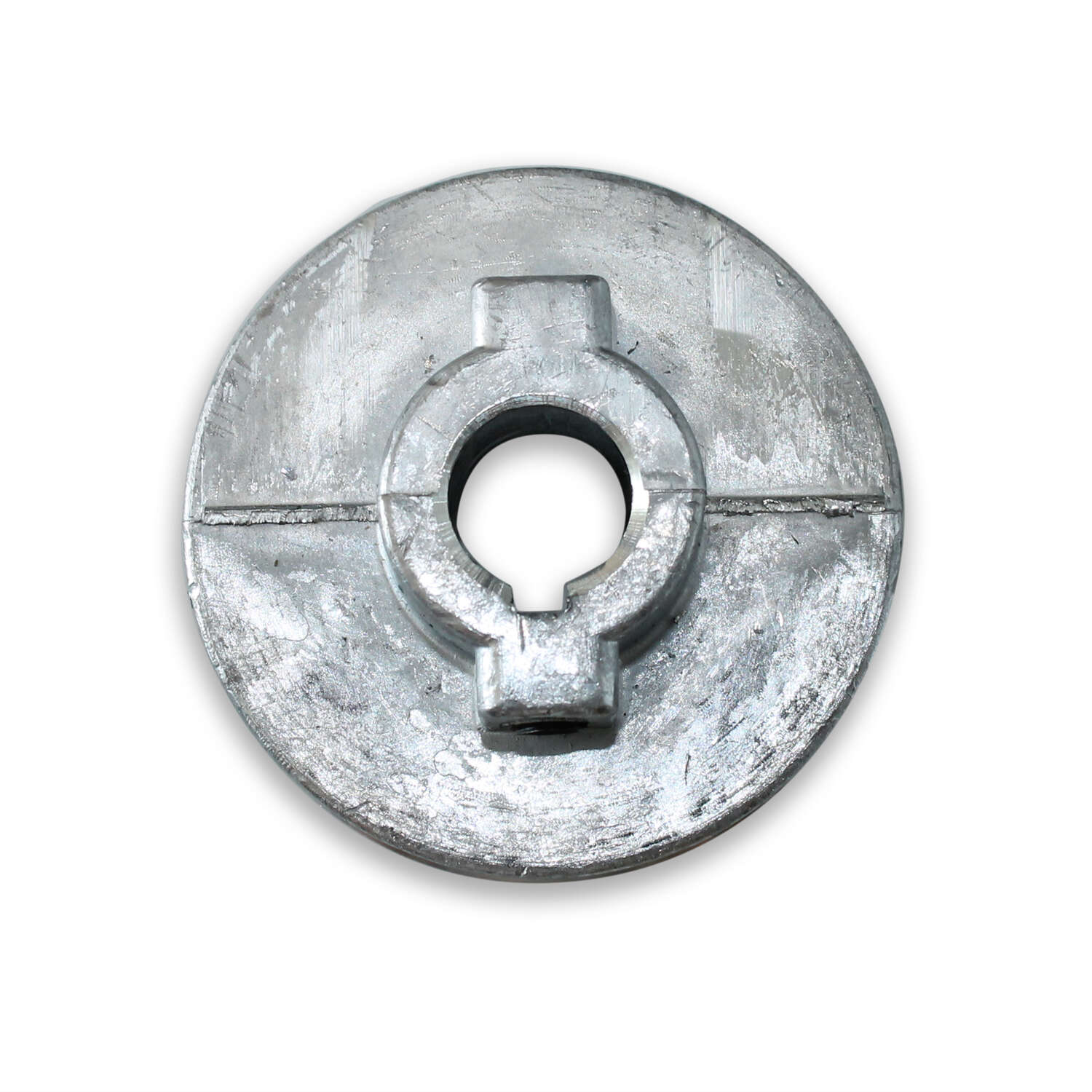 Chicago Die Cast Single V Grooved Pulley A 3-1/2 in. x 3/4 in. Bulk