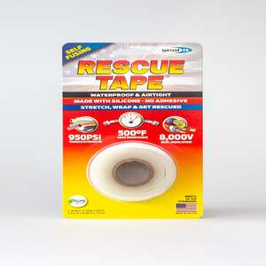 Rescue Tape  1 in. W x 12 ft. L White  Silicone Tape  6 oz.