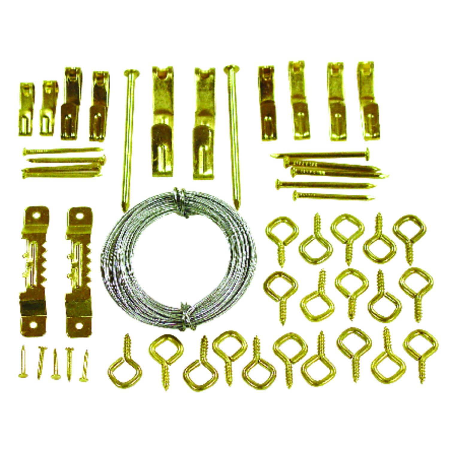 OOK  OOK  Steel  Picture Hook Kit  0 lb. 50 pk Conventional