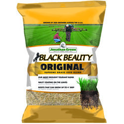 Jonathan Green  Black Beauty Original  Tall Fescue  Sun/Partial Shade  Grass Seed  25 lb.