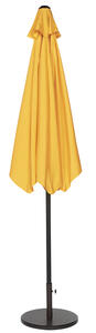 Living Accents  9 ft. Tiltable Yellow  MARKET  Patio Umbrella