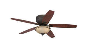 Westinghouse  Carolina  25.51  5 blade Indoor  Oil Rubbed Bronze  Ceiling Fan