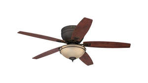 Westinghouse  Carolina  5.43  5  Indoor  Oil Rubbed Bronze  52 in. W Ceiling Fan