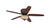 Westinghouse  Carolina  52 in. Oil Rubbed Bronze  Brown  Indoor  Ceiling Fan