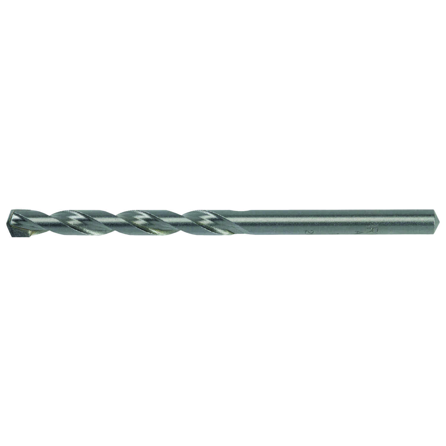 Irwin  Rotary Percussion  1/4 in. Dia. x 4 in. L High Speed Steel  Hammer Drill Bit  Straight Shank