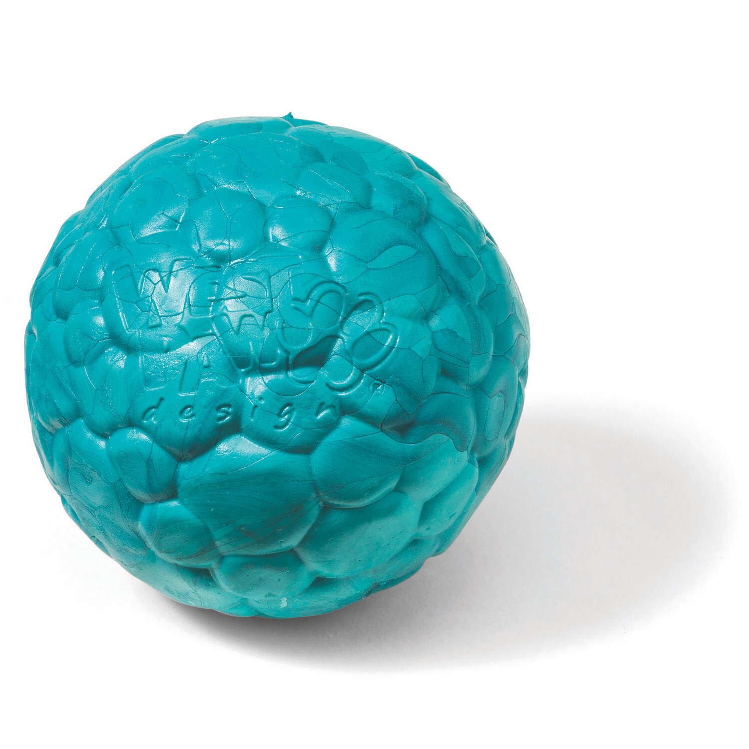 West Paw  Zogoflex Air  Blue  Synthetic Rubber  Ball Dog Toy  Medium  Boz Ball