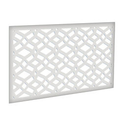 Xpanse  Celtic  2 ft. W x 4 ft. L White  Polymer  Screen Panel