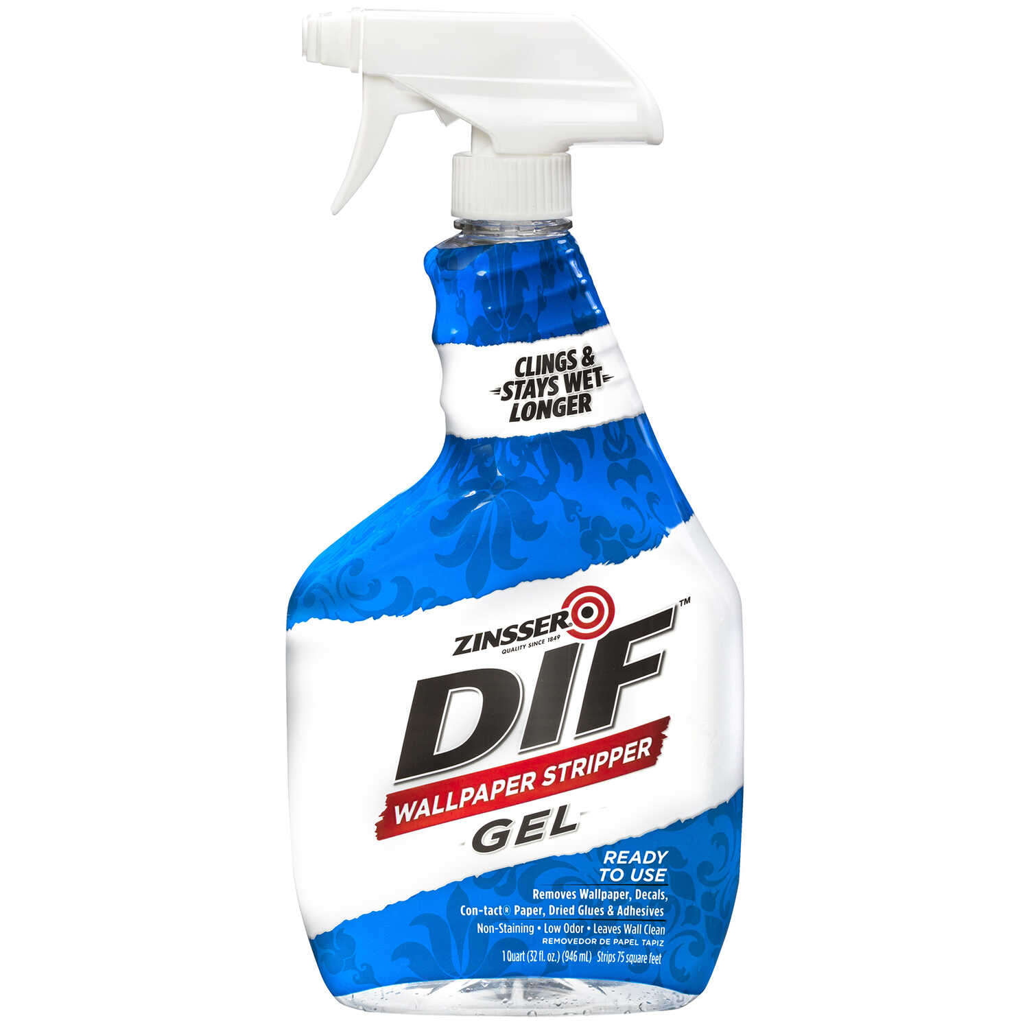 Zinsser  DIF  Gel  Wallpaper Stripper  32 oz.