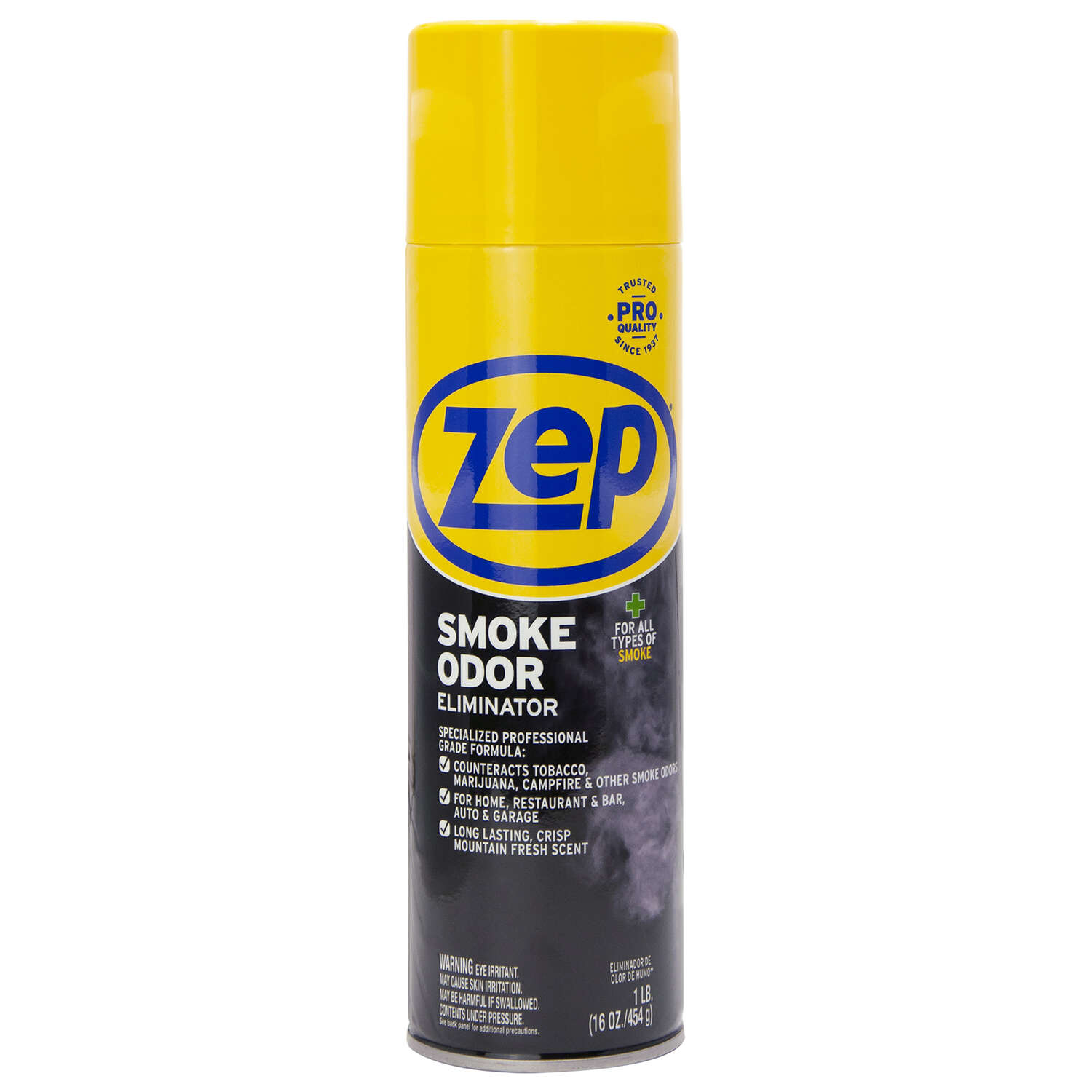 Zep  Fresh Clean Scent Smoke Odor Eliminator  16 oz. Liquid
