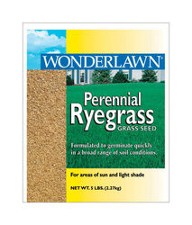Barenbrug Wonderlawn Perennial Ryegrass Sun/Partial Shade Lawn Seed Blend 5 lb.