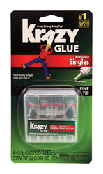 Krazy Glue  Super Strength  Polyvinyl acetate homopolymer  All Purpose Adhesive  0.017 oz.