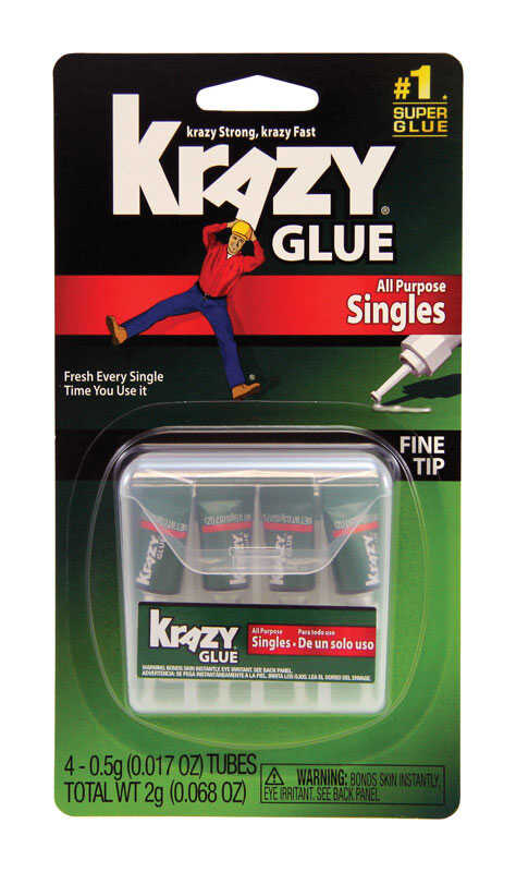Instant Krazy Glue  Super Strength  Polyvinyl acetate homopolymer  All Purpose Adhesive  5