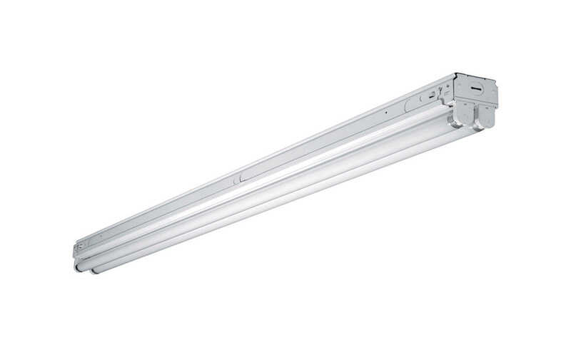 Metalux  SSF  97.0 in. L White  Hardwired  Fluorescent  Strip Light