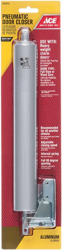 Ace Aluminum Aluminum Pneumatic Screen/Storm Door Closer