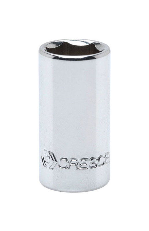 Crescent  9/32 in.  x 1/4 in.  SAE  6  Standard  Socket  1 pc.