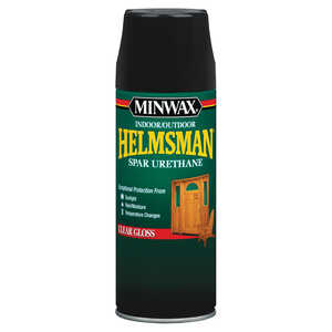 Minwax  Helmsman  Indoor and Outdoor  Clear  Gloss  Spar Urethane  11.5 oz. Gloss