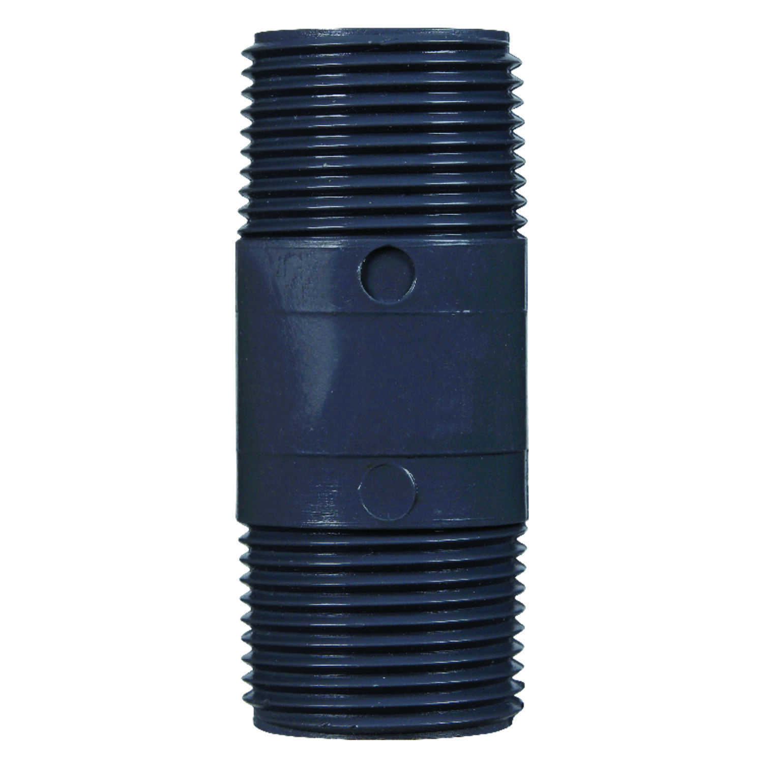 B & K  Schedule 80  3/4 in. MPT   x 3/4 in. Dia. MPT  PVC  Pipe Nipple