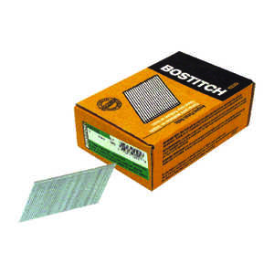 Stanley Bostitch  15 Ga. Smooth Shank  Angled Strip  Finish Nails  2 in. L x 0.12 in. Dia. 3,655 pc.