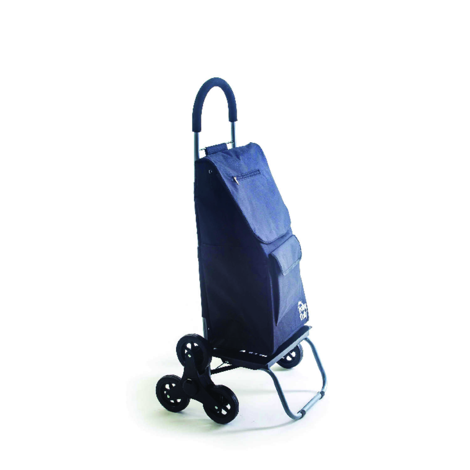 dbest Products  Trolley Dolly  38 in. H x 16 in. L x 18 in. W Collapsible Stair Climbing Shopping Ca