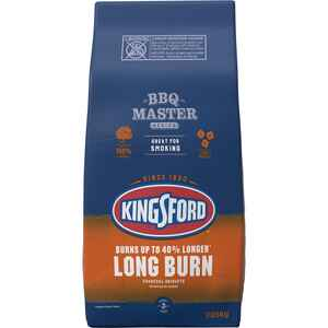 Kingsford  Long Burn  Premium Blend  Charcoal Briquettes  12 lb.