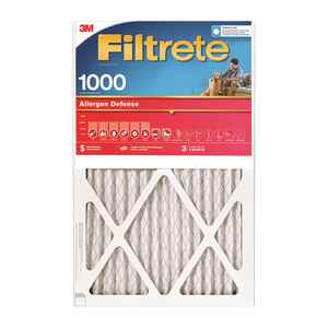 3M  Filtrete  25 in. W x 1 in. D x 25 in. H Pleated Air Filter