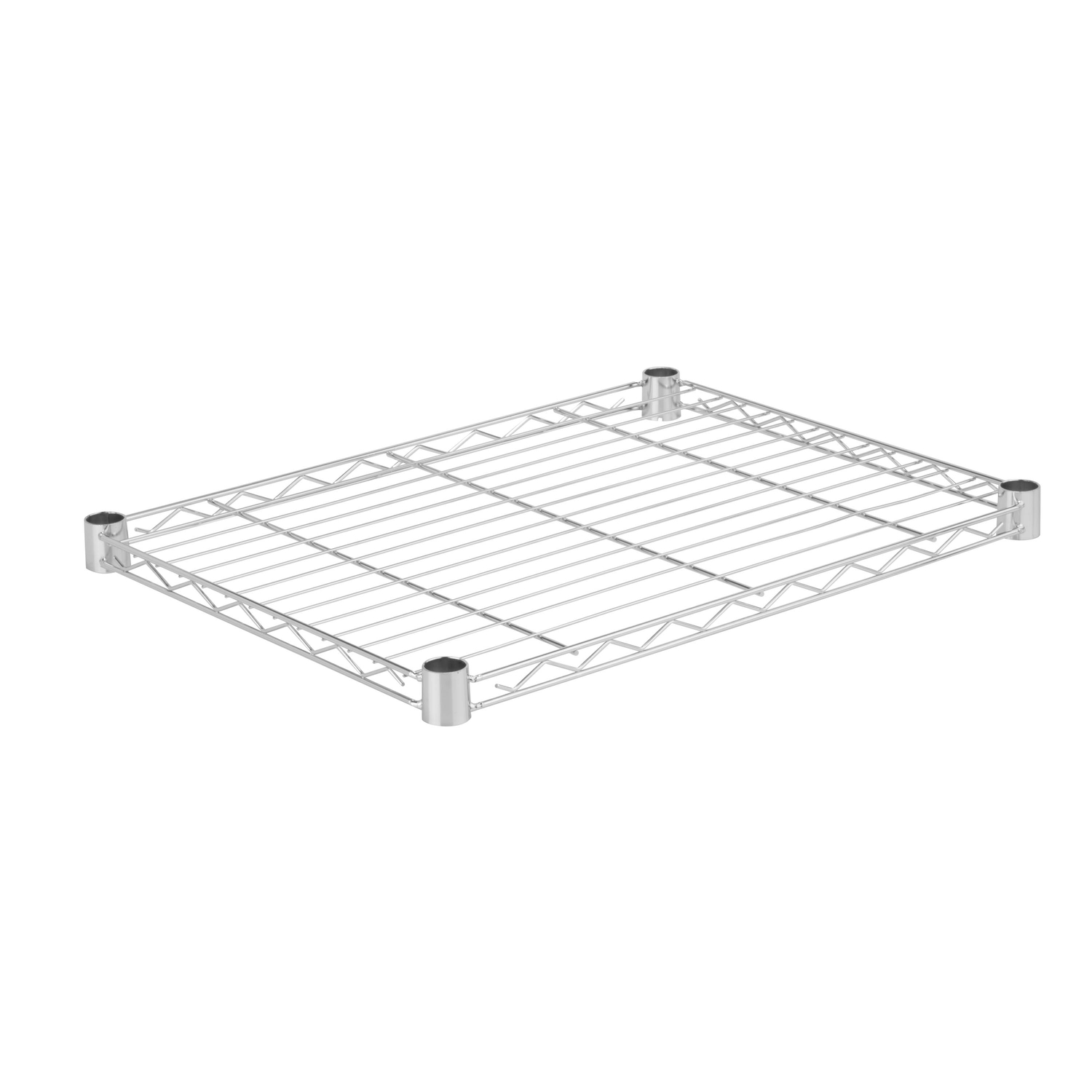 Honey Can Do  1 in. H x 18 in. D x 24 in. W Shelf Rack  Steel