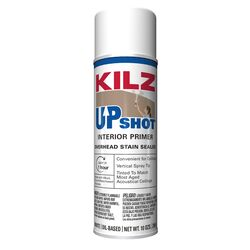 KILZ  Up Shot  White  Flat  Oil-Based  Primer and Sealer  10 oz.