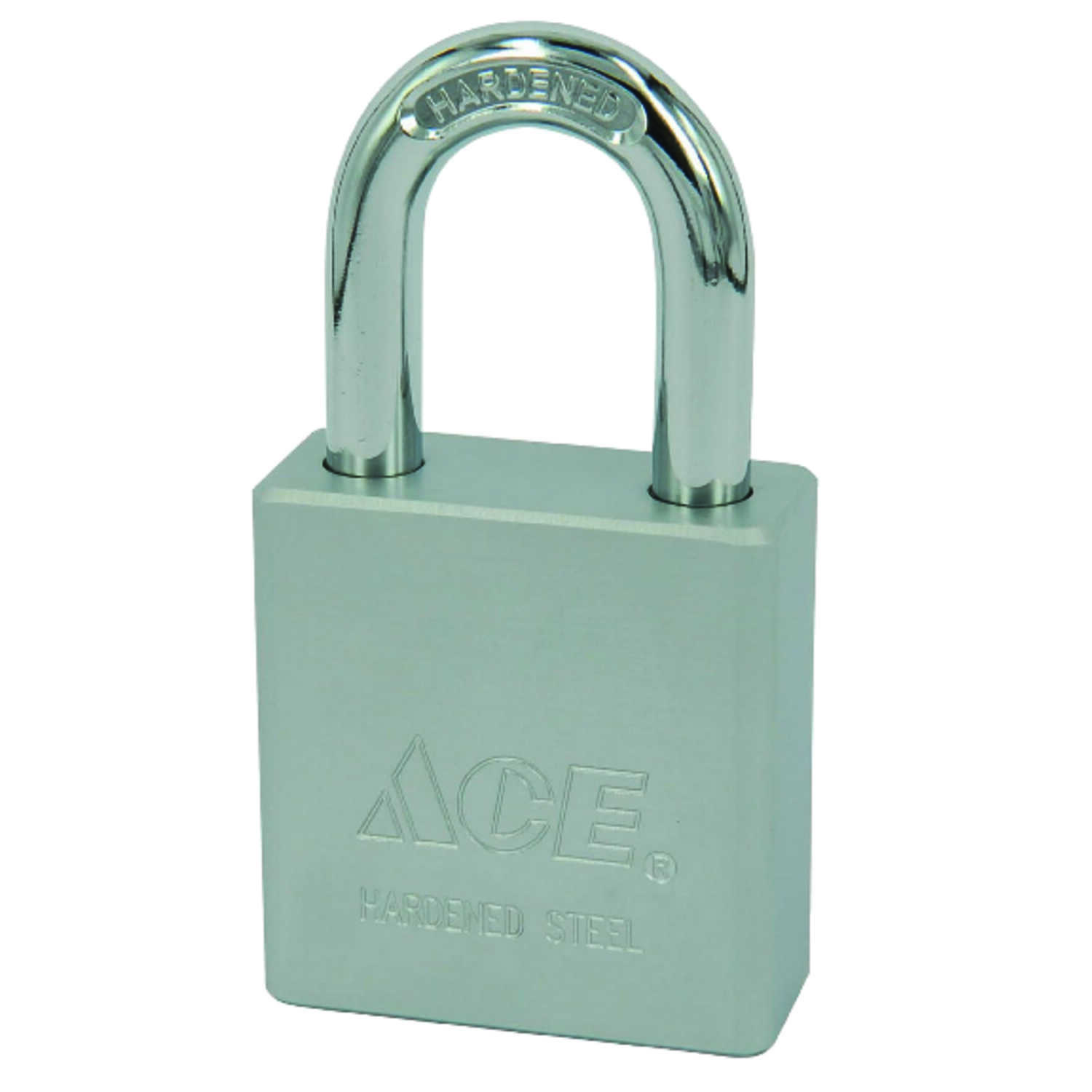 Ace  1-13/16 in. H x 1-3/4 in. W x 3/4 in. L Steel  Double Locking  Padlock  1 pk